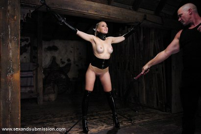 Photo number 2 from Annette Schwarz shot for sexandsubmission on Kink.com. Featuring Mark Davis and Annette Schwarz in hardcore BDSM & Fetish porn.