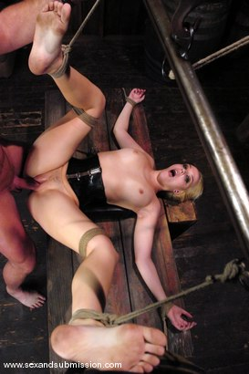Photo number 10 from Annette Schwarz shot for sexandsubmission on Kink.com. Featuring Mark Davis and Annette Schwarz in hardcore BDSM & Fetish porn.