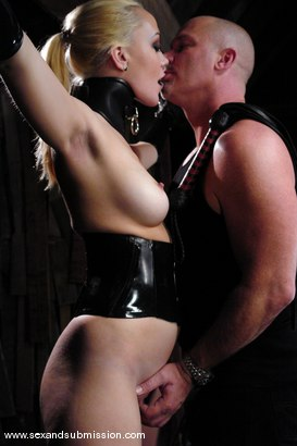 Photo number 1 from Annette Schwarz shot for Sex And Submission on Kink.com. Featuring Mark Davis and Annette Schwarz in hardcore BDSM & Fetish porn.