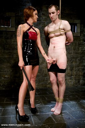 Photo number 3 from Latex Dominatrix shot for Men In Pain on Kink.com. Featuring Nomad and Sara Faye in hardcore BDSM & Fetish porn.