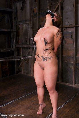 Photo number 9 from DragonLily is back and is doing a realtime Hogtied shoot.<br>No breaks, no rest, no cuts. shot for Hogtied on Kink.com. Featuring DragonLily in hardcore BDSM & Fetish porn.