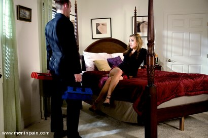 Photo number 1 from Service Denial shot for meninpain on Kink.com. Featuring Gwen Diamond and Max Tibbs in hardcore BDSM & Fetish porn.
