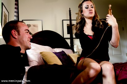 Photo number 2 from Service Denial shot for Men In Pain on Kink.com. Featuring Gwen Diamond and Max Tibbs in hardcore BDSM & Fetish porn.