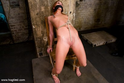 Photo number 9 from Smokin hot, Smokie Flame is back on Hogtied<br>and she brought her tight, hard, shaved body with her shot for Hogtied on Kink.com. Featuring Sgt. Major and Smokie Flame in hardcore BDSM & Fetish porn.