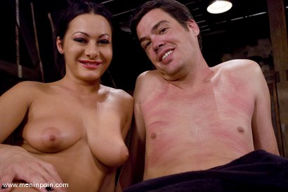 Photo number 15 from Humiliated bitch boy shot for Men In Pain on Kink.com. Featuring Sandra Romain and Julian Fornatora in hardcore BDSM & Fetish porn.