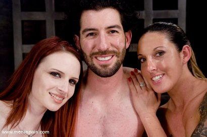 Photo number 15 from Making a Dominatrix shot for Men In Pain on Kink.com. Featuring Omar, Claire Adams and Fiona Cheeks in hardcore BDSM & Fetish porn.