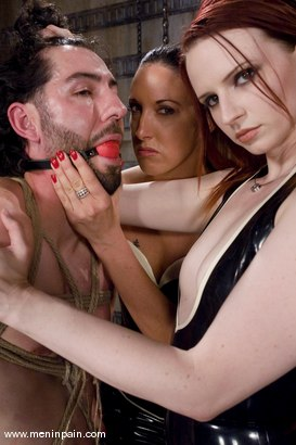 Photo number 12 from Making a Dominatrix shot for Men In Pain on Kink.com. Featuring Omar, Claire Adams and Fiona Cheeks in hardcore BDSM & Fetish porn.