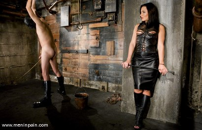 Photo number 2 from Painful Predicament shot for Men In Pain on Kink.com. Featuring Sandra Romain and Lefty in hardcore BDSM & Fetish porn.