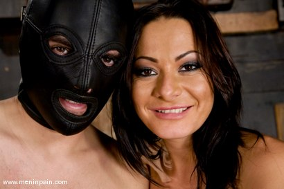 Photo number 15 from Painful Predicament shot for Men In Pain on Kink.com. Featuring Sandra Romain and Lefty in hardcore BDSM & Fetish porn.