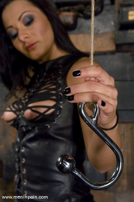 Photo number 3 from Painful Predicament shot for Men In Pain on Kink.com. Featuring Sandra Romain and Lefty in hardcore BDSM & Fetish porn.