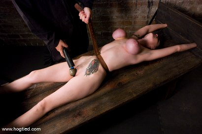 Photo number 2 from Berlin and her huge monsterous, massive<br> breasts are back for hard bondage at its best. shot for Hogtied on Kink.com. Featuring Mz Berlin in hardcore BDSM & Fetish porn.