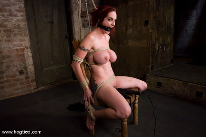 Photo number 4 from Berlin and her huge monsterous, massive<br> breasts are back for hard bondage at its best. shot for Hogtied on Kink.com. Featuring Mz Berlin in hardcore BDSM & Fetish porn.