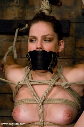 Photo number 10 from Bobbie Starr <br> CAVR Starlet of the Year<br> Our girl next door grew up and got famous on us. shot for Hogtied on Kink.com. Featuring Bobbi Starr in hardcore BDSM & Fetish porn.
