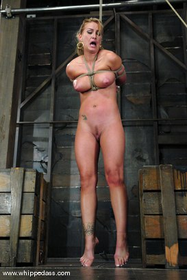 Photo number 6 from Bound Bombshell shot for Whipped Ass on Kink.com. Featuring Isis Love and Aline in hardcore BDSM & Fetish porn.
