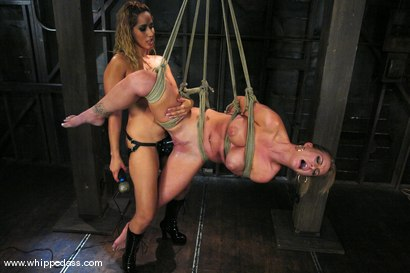 Photo number 9 from Bound Bombshell shot for Whipped Ass on Kink.com. Featuring Isis Love and Aline in hardcore BDSM & Fetish porn.