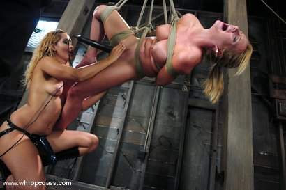 Photo number 10 from Bound Bombshell shot for Whipped Ass on Kink.com. Featuring Isis Love and Aline in hardcore BDSM & Fetish porn.
