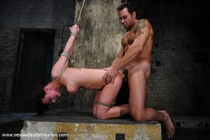 Photo number 13 from Damsel from Denmark shot for Sex And Submission on Kink.com. Featuring Steven St. Croix and Denice K in hardcore BDSM & Fetish porn.