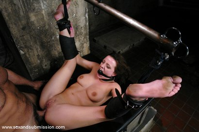 Photo number 11 from Damsel from Denmark shot for Sex And Submission on Kink.com. Featuring Steven St. Croix and Denice K in hardcore BDSM & Fetish porn.