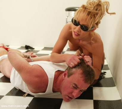 Photo number 1 from Wild Bill and Janay shot for Men In Pain on Kink.com. Featuring Wild Bill and Janay in hardcore BDSM & Fetish porn.
