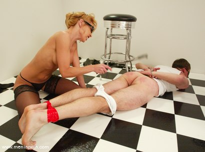 Photo number 7 from Wild Bill and Janay shot for Men In Pain on Kink.com. Featuring Wild Bill and Janay in hardcore BDSM & Fetish porn.
