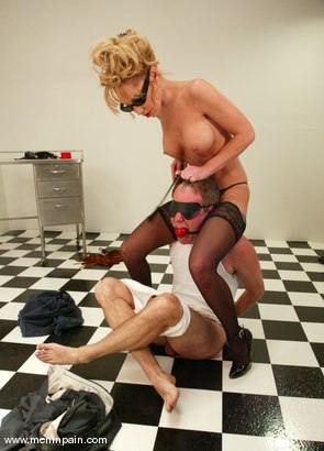 Photo number 6 from Wild Bill and Janay shot for Men In Pain on Kink.com. Featuring Wild Bill and Janay in hardcore BDSM & Fetish porn.