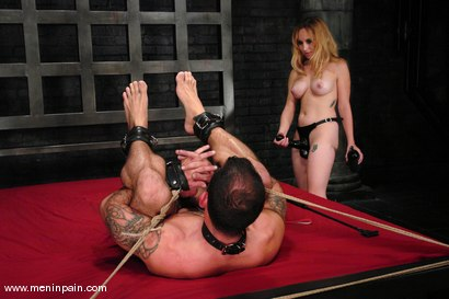 Photo number 13 from Pain is the price for Her company shot for Men In Pain on Kink.com. Featuring Aiden Starr and Daac Ramsey in hardcore BDSM & Fetish porn.