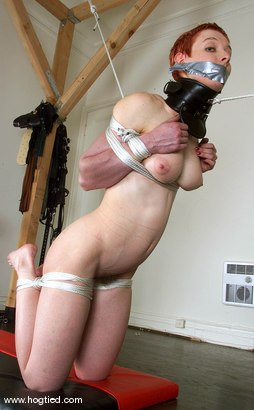 Photo number 9 from Sabrina shot for Hogtied on Kink.com. Featuring Sabrina in hardcore BDSM & Fetish porn.