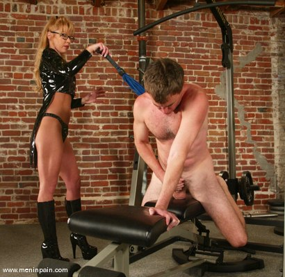 Photo number 5 from Janay and Wild Bill shot for Men In Pain on Kink.com. Featuring Wild Bill and Janay in hardcore BDSM & Fetish porn.
