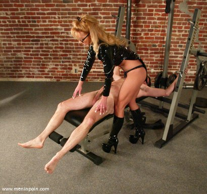 Photo number 2 from Janay and Wild Bill shot for Men In Pain on Kink.com. Featuring Wild Bill and Janay in hardcore BDSM & Fetish porn.