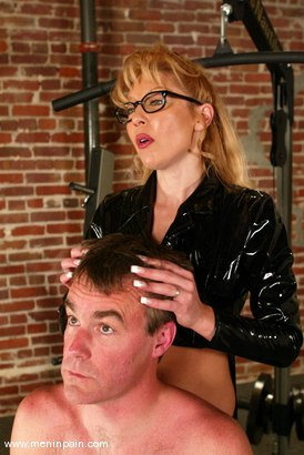 Photo number 4 from Janay and Wild Bill shot for Men In Pain on Kink.com. Featuring Wild Bill and Janay in hardcore BDSM & Fetish porn.