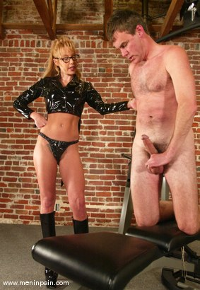 Photo number 6 from Janay and Wild Bill shot for Men In Pain on Kink.com. Featuring Wild Bill and Janay in hardcore BDSM & Fetish porn.