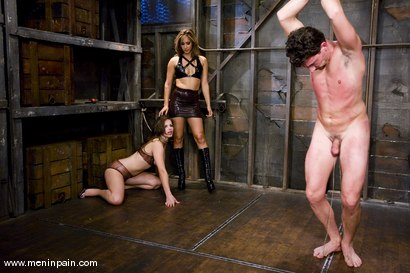 Photo number 13 from The Reward shot for Men In Pain on Kink.com. Featuring Bobbi Starr, Eddy and Isis Love in hardcore BDSM & Fetish porn.