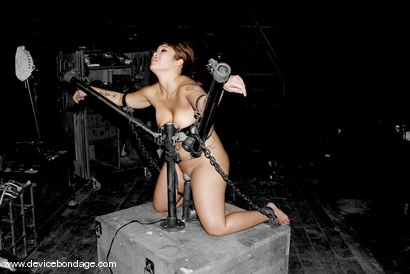 Photo number 1 from Dragon Roll shot for Device Bondage on Kink.com. Featuring DragonLily in hardcore BDSM & Fetish porn.