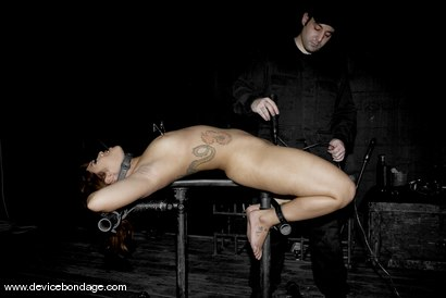 Photo number 8 from Dragon Roll shot for Device Bondage on Kink.com. Featuring DragonLily in hardcore BDSM & Fetish porn.