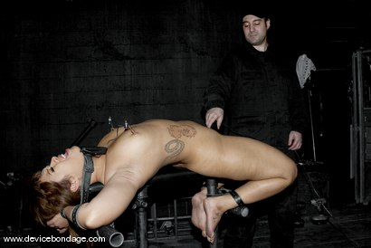 Photo number 9 from Dragon Roll shot for Device Bondage on Kink.com. Featuring DragonLily in hardcore BDSM & Fetish porn.