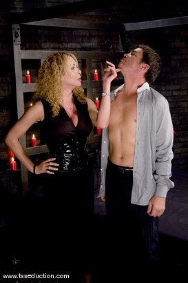 Photo number 2 from Gia Darling and Julian shot for TS Seduction on Kink.com. Featuring Gia Darling and Julian Fornatora in hardcore BDSM & Fetish porn.