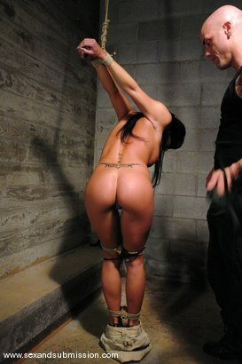 Photo number 3 from Prisoner shot for Sex And Submission on Kink.com. Featuring Derrick Pierce and Savannah Stern in hardcore BDSM & Fetish porn.