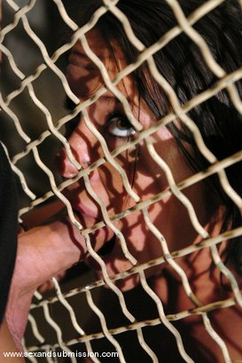 Photo number 8 from Prisoner shot for Sex And Submission on Kink.com. Featuring Derrick Pierce and Savannah Stern in hardcore BDSM & Fetish porn.