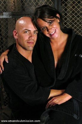 Photo number 15 from Prisoner shot for Sex And Submission on Kink.com. Featuring Derrick Pierce and Savannah Stern in hardcore BDSM & Fetish porn.