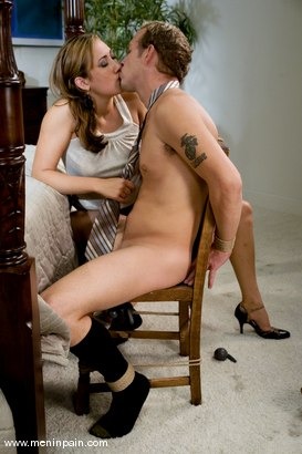 Photo number 4 from Wicked Bitch shot for Men In Pain on Kink.com. Featuring Gwen Diamond and Billy in hardcore BDSM & Fetish porn.