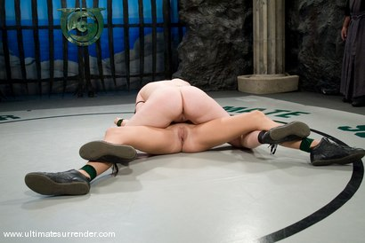 """Photo number 12 from Alexa Von Tess """"The Badger"""" (3-4) Ranked 10th<br>vs<br>Smokie Flame """"The Phoenix"""" (0-2) Ranked 14th shot for Ultimate Surrender on Kink.com. Featuring Smokie Flame and Alexa Von Tess in hardcore BDSM & Fetish porn."""