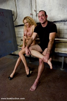 Photo number 11 from Gia Darling and Allen Jones shot for TS Seduction on Kink.com. Featuring Gia Darling and Allen Jones in hardcore BDSM & Fetish porn.