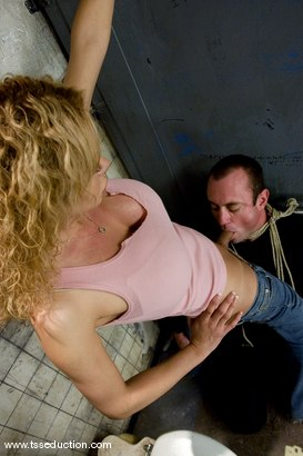 Photo number 13 from Gia Darling and Allen Jones shot for TS Seduction on Kink.com. Featuring Gia Darling and Allen Jones in hardcore BDSM & Fetish porn.