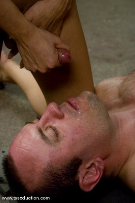 Photo number 10 from Gia Darling and Allen Jones shot for TS Seduction on Kink.com. Featuring Gia Darling and Allen Jones in hardcore BDSM & Fetish porn.