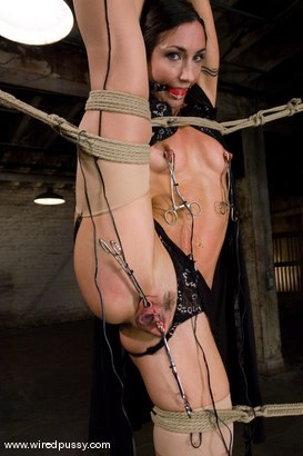 Photo number 2 from Wenona put into extreme bondage!!! shot for Wired Pussy on Kink.com. Featuring Wenona in hardcore BDSM & Fetish porn.