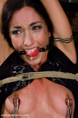 Photo number 4 from Wenona put into extreme bondage!!! shot for Wired Pussy on Kink.com. Featuring Wenona in hardcore BDSM & Fetish porn.