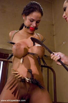 Photo number 13 from Angelina Valentine shot for Whipped Ass on Kink.com. Featuring Sandra Romain and Angelina Valentine in hardcore BDSM & Fetish porn.