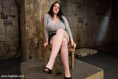 Photo number 1 from Welcom back Daphne Rosen and<br>her huge 34G breasts. Tits worth tying up! shot for Hogtied on Kink.com. Featuring Daphne Rosen in hardcore BDSM & Fetish porn.