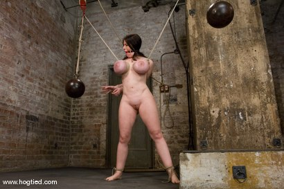 Photo number 9 from Welcom back Daphne Rosen and<br>her huge 34G breasts. Tits worth tying up! shot for Hogtied on Kink.com. Featuring Daphne Rosen in hardcore BDSM & Fetish porn.