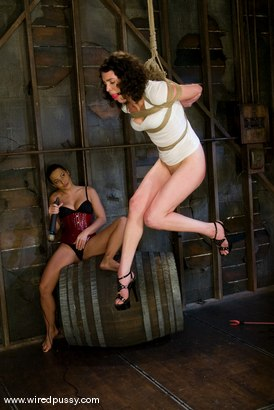 Photo number 3 from Fresh Meat shot for Wired Pussy on Kink.com. Featuring Sandra Romain and Aster in hardcore BDSM & Fetish porn.
